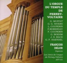 CD orgue du temple ferney-voltaire