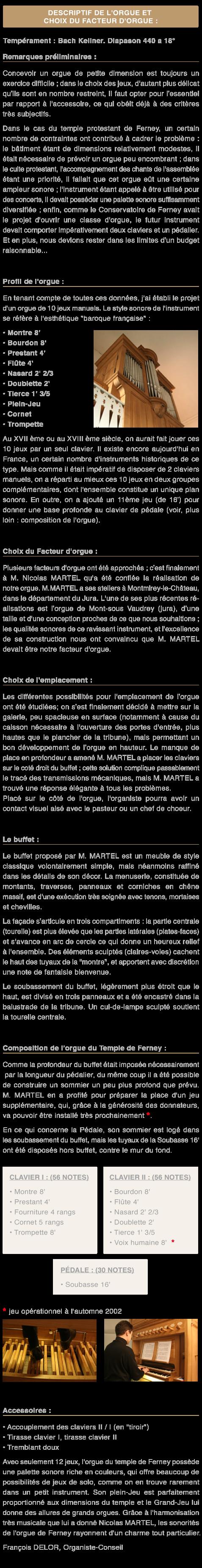L'Orgue – Les Amis de l'Orgue du Temple de Ferney-Voltaire